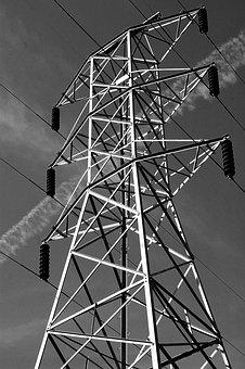Pylon, Background, Power, Energy, Voltage, Danger