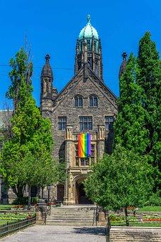 Church, Iglesia, Lgbt, Religion, Belief, Rainbow