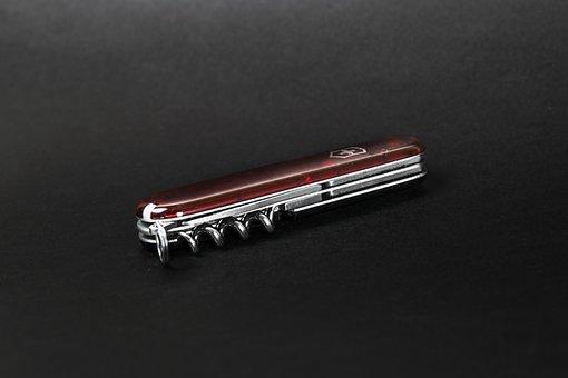 Pocket Knife, Red, Universal, Knife, Practical, Blade
