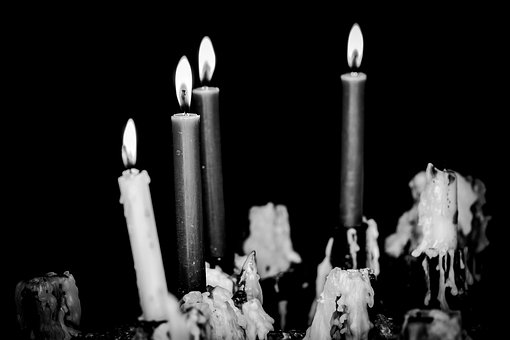 Candles, Church, Saint, Candlelight, Flame, Light