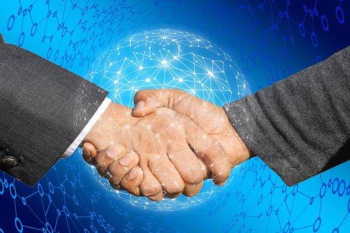 Handshake, Shaking Hands, Internet, Cyber, Network