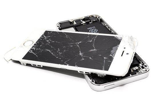 Broken, Phone, Smartphone, Screen, Repair