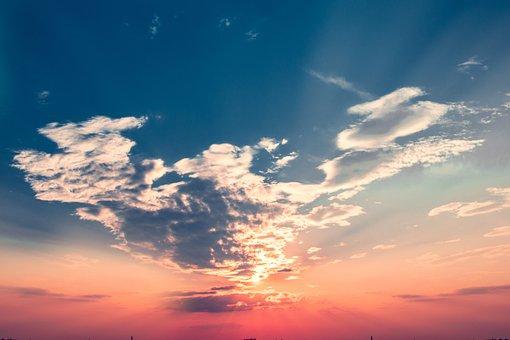 Sun, Sunlight, Summer, Nature, Sky, Sunrise, Goodvibes