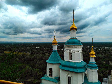 Church, Svyatogorsk, Orthodoxy, Temple, Cathedral