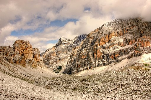 Tofane, Dolomites, Nature, Unesco World Heritage