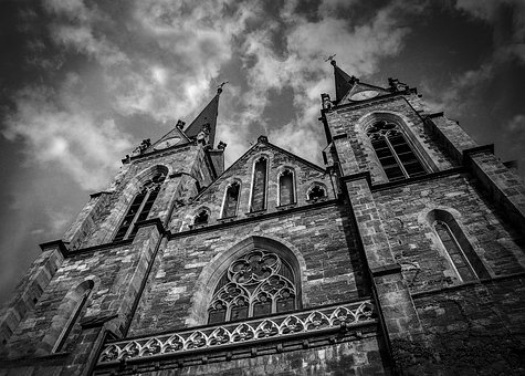 Church, Towers, Building, Architectural, City