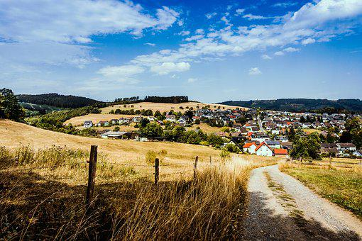 Sauerland, Hiking, Garbeck, Balve, Trail, Landscape