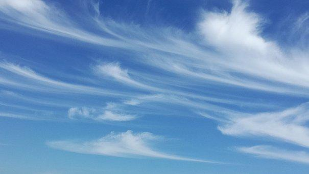 Sky, Painter, Blue, Wind, Movement, Cloud, Artist