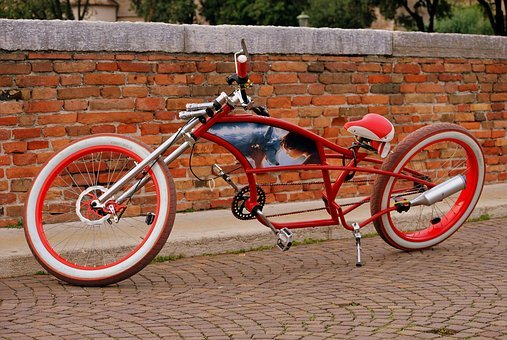 Bicycle, Strangeness, Eccentric, Wheels, Pedals