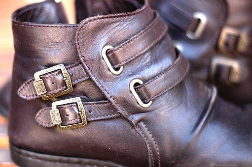 Buckles, Boots, Footwear, Walking