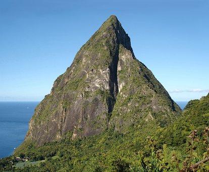 Caribbean Island, Petit Piton, St Lucia, Saint Lucia