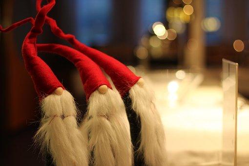 The Elves, Christmas, Santa Claus