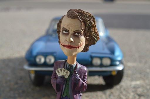 Joker, Batman, Heath Ledger, Villain, Comic
