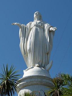Statue, Fig, Sculpture, Maria, Church, Faith, Madonna
