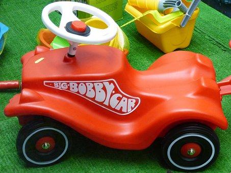 Bobby Car, Friction Car, Miniature Car