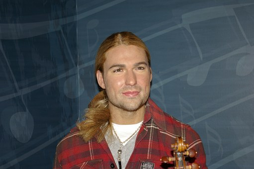 David Garrett, Violinist, Guinness Book, Wax Figure