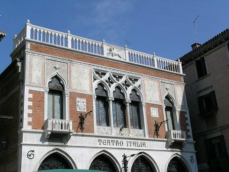 Italian Theater In Venice, Teatro, Venice, Veneto