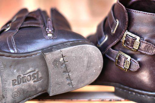 Leather Boots, Hand Made, Mountain, Footwear
