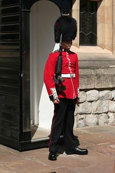 London, Tower Of London, Bobby, Places Of Interest