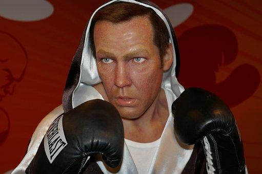 Henry Maske, Boxer, Wax Figure, Berlin, Madame Tussauds