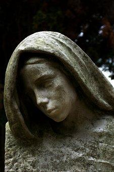 Statue, Madonna, Sculpture, Stone Figure, Figure, Woman