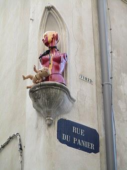 Marseille, Modern Art, Art, Doll, Madonna