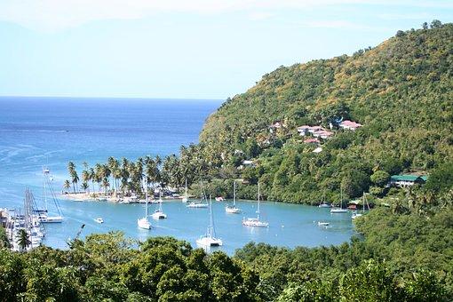Marigot Bay, St Lucia, Landscape, Island, Caribbean