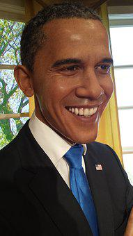 Barack Obama, Wax, Figure, Museum, Madame Tussauds
