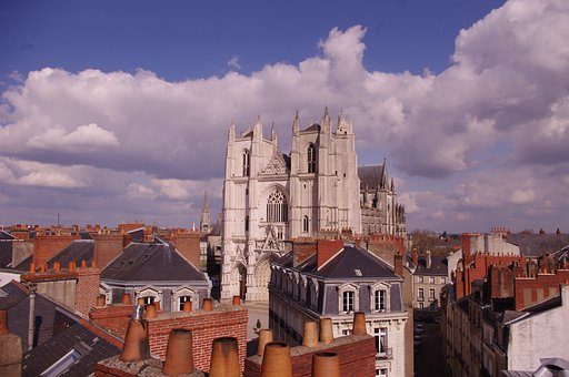 Nantes, Cathedral, Roofs