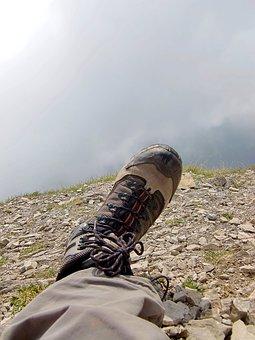 Shoe, Hiking, Hiking Shoes, Mountain Hiking, Outdoor