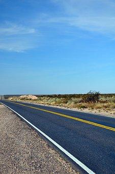 Route, Road, Patagonia, Argetina, Anyone, Day, Asphalt