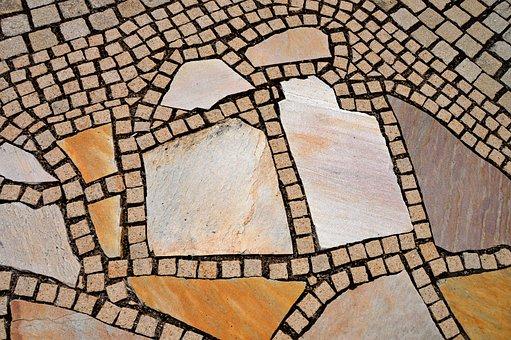 Garden, Terrace, Patch, Ornament, Spiral, Design