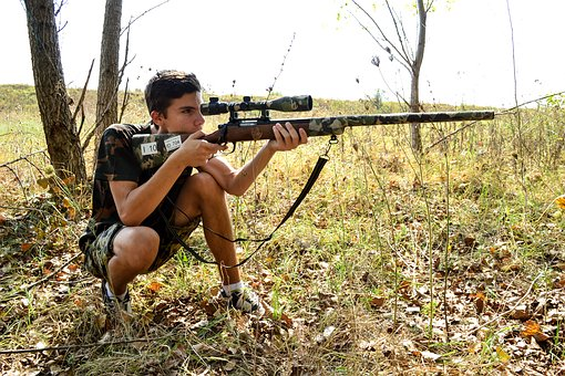 Sniper, Guy, Rifle, Weapon, Gun, Male, Special, Army