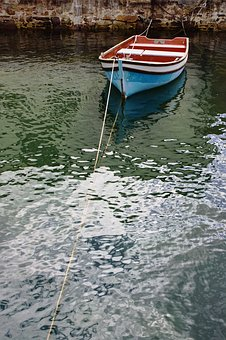 Boat, Water, Ripples, Harbour, Small, Calm