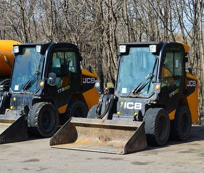 Loader, Tractor, Excavator, Road-building Machinery