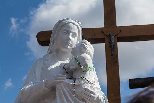 Lithuania, Siauliai, Mountain Of Crosses, Cross, Faith