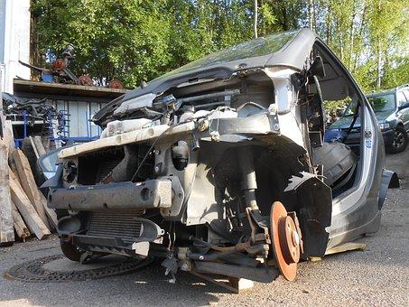Smart, Elv, Scrap, Scrap Car, Auto, Disposal