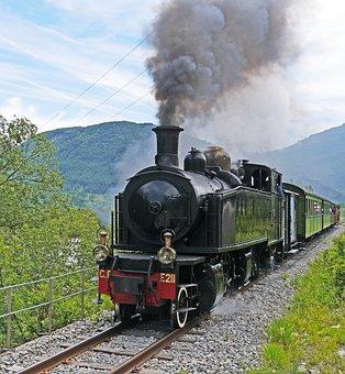Museum Train, Steam Locomotive, Special Crossing