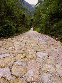 Trail, Flooring, Stone, Hiking, Mountain, Walk, Veneto