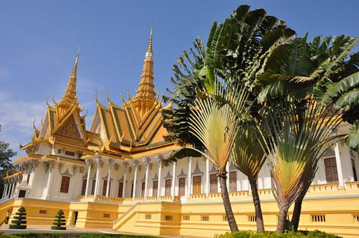 Phnom Penh, Temple, Cambodia