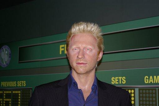 Boris Becker, Tennis Player, Wax Figure, Berlin