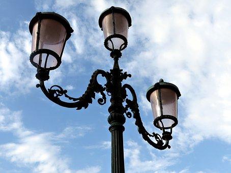 Streetlamp, Venice, Italy, Lamp, Venezia, Lamppost