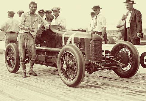 Laurel Speedway, Racing Car, Vintage Car, Classic Car