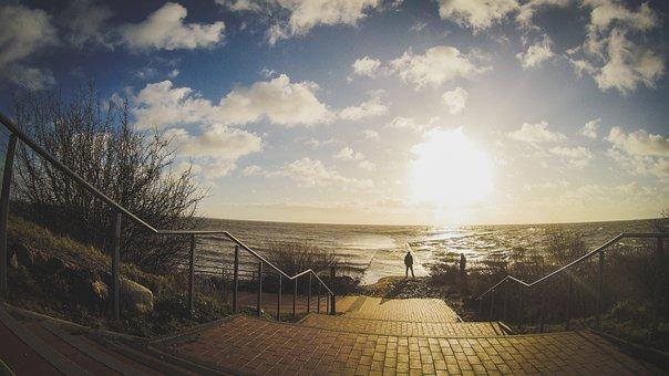 Autumn, Sea, Nature, Fall, Water, Sky, Coast, Landscape