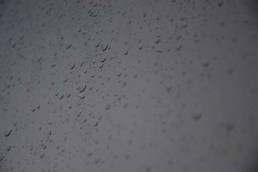 Water, Drops, A Drop Of, Rain, Window, Pane, Wet