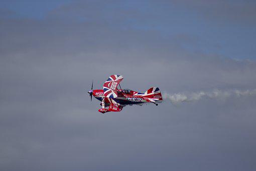 Airshow, Stunt, Airplane, Aviation, Aircraft, Aerobatic
