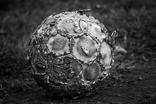 Football, Soccer, Game, Balls, Old, Antique, Retro