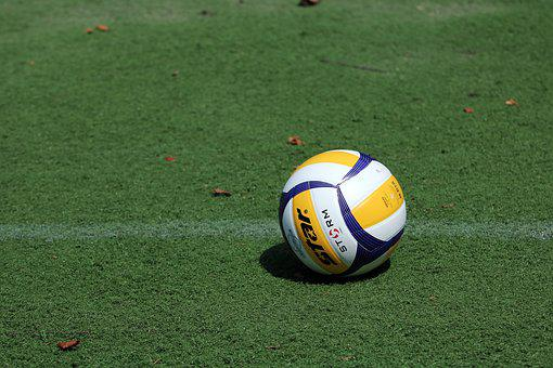 Volleyball, Grass, Sport, Games, Ball, Exercise, Play