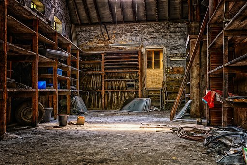 Lost Places, Workshop, Scale, Barn, Building, Nostalgia