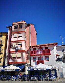Architecture, Houses, Facade, Bermeo